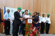 Haiti Prime Minister and Minister of Health Honor Tulane, 11/9/17